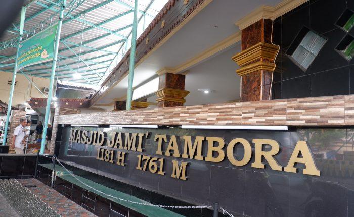Menilik Jejak Sejarah Masjid Tambora