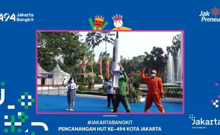 Aksi Teaterikal Kolaborasi Jakarta Bangkit